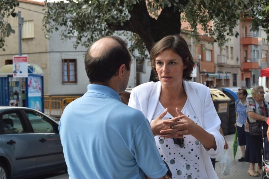Esperanza Garcia ha contestat les preguntes dels simpatitzants